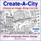 End of the Year Activities | Create-A-City with Language & Design (Gr. 3-7)