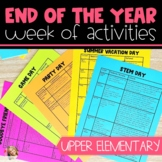 End of the Year Activities - Distance Learning