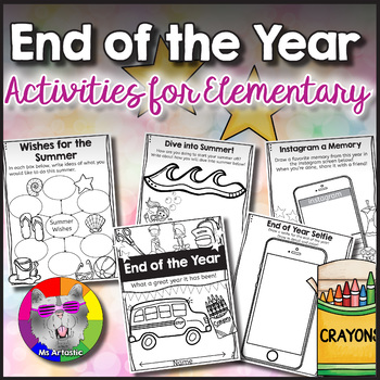 End of the Year Activities Elementary School