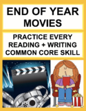 End of the Year Movies: End of the Year ELA Activities