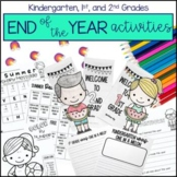 End of the Year Activities   End of the Year Memory Book