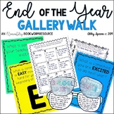 End of the Year Activities: Gallery Walk and Writing Craft