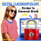 End of Year Activities Google Classroom Digital Escape Roo