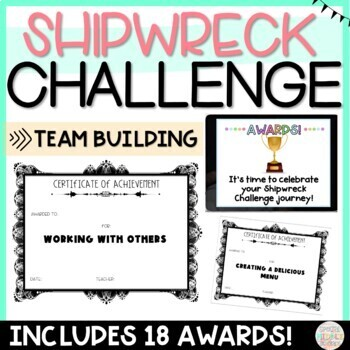 Back to School Shipwreck Challenge Team Building Activty