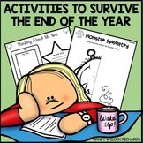 End of the Year Activities for Kinder Survival Distance Learning
