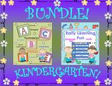 Kindergarten Bundle Activities and Printables
