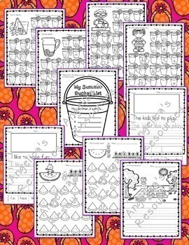 End of the Year Activities Bundle : Literacy, Math, Crowns, and Pennants