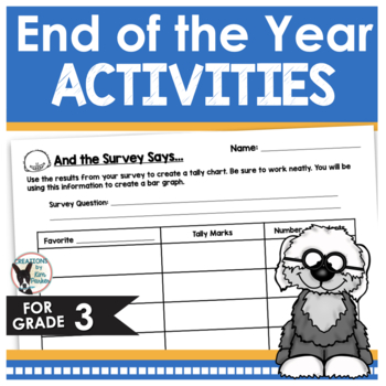 End of the Year Activities LOW PREP- for those Last Days o