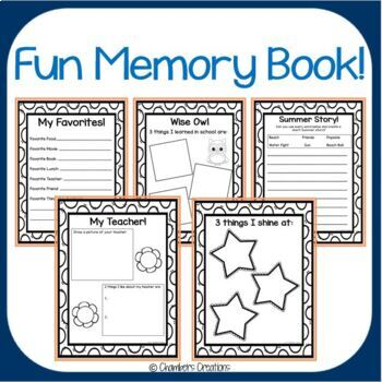 End of the Year -MEMORY BOOK