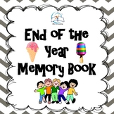 Sweets End of the Year Memory Book