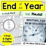 End of the Year Activities | Middle School