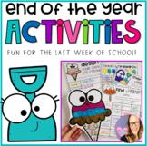 End of the Year Activities NO PREP (Kindergarten through S