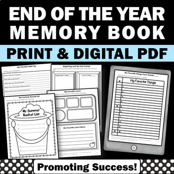 End of the Year Review or Summer School Writing Activities