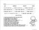 Fall review Math Printables Grades 4-6  No Prep!
