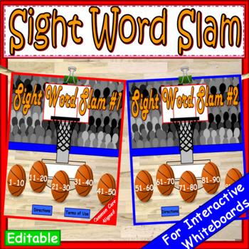 Fry Sight Words Game | Sight Words Kindergarten | Fry Sight Words EDITABLE