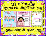 Sight Words Reading Passages Task Cards K - 1