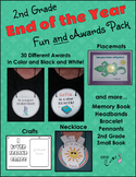 End of the Year Activities and Awards - Second Grade