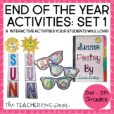 End of the Year Activities | End of Year Fun Activities