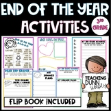 End of the Year Activities for 3rd grade - NO PREP!