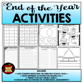 End of the Year Activities for Any Classroom