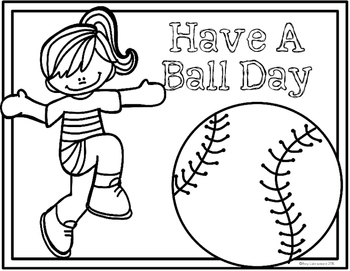 End of the Year Activities for Ball Day