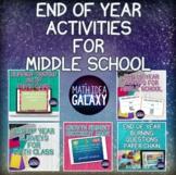 Last Week of School Activities for Middle School