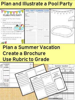 End of the Year Activities with a Summer Theme