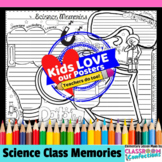 End of the Year Writing Activity: Science