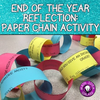 End of the Year Activities Middle Grades