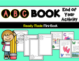 End of the Year Activity: ABC Memory Book