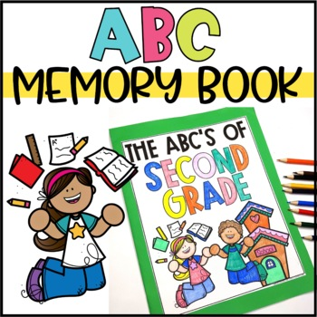 End of the Year Activity - ABC Memory Book for any grade