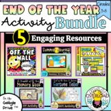 End of the Year Activity BUNDLE: Memory Book, Summer Glyph