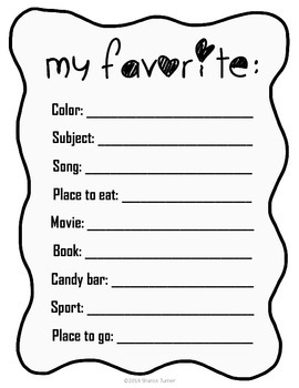 End of the Year Activity Book: My 4th Grade Memory Book