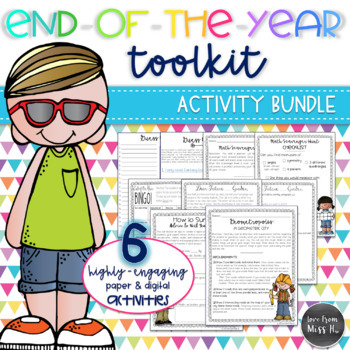 End-of-the-Year Activity Bundle