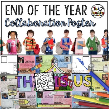 End of the Year Activity - Collaboration Poster and Writin