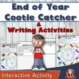 End of the Year Activity Cootie Catcher and Memory Book