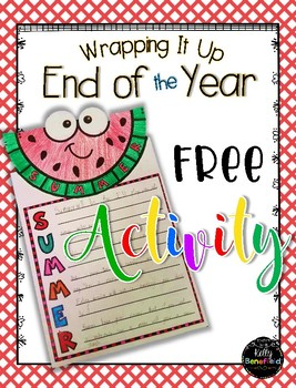 End of the Year Activity: Freebie