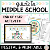 End of the Year Activity How to Survive Middle School