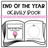 End of the Year Activity *Memory* Book for Young Learners or Special Education