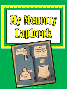 End of the Year Activities - Memory Lapbook