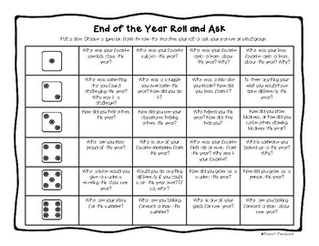 End of the Year Activity - NO PREP