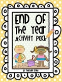 End of the Year Activity Pack! {Memory Book & Activities}