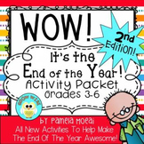 End of Year Activities for Ages 8-13! (2nd Edition)