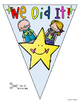 End of the Year Activity Pennant Banner