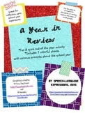 End of the Year Activity Sheets: A Year in Review [FREE]