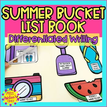 Summer Bucket List Book | Special Education and Autism Resource