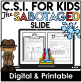 End of the Year Activity | Summer Fun | Print and Go | Crime Scene Investigation