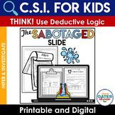 Summer Crime Scene Investigation | Digital or Print | Distance Learning