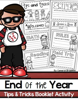 End of the Year Writing Activity Tips and Tricks Guide Boo