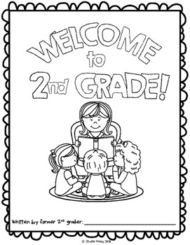 "End of the Year Activity: ""Welcome to 2nd Grade"" For Your Students Next Year!"